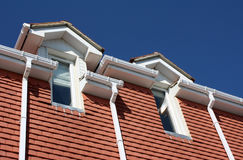 Gutters Drainpipes & Soffits Stock Photography