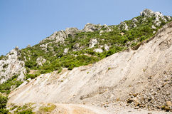 Gutturu Cardaxius kanjon Royaltyfria Bilder