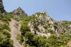 Gutturu Cardaxius kanjon Royaltyfria Foton