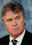 Guus Hiddink, the coach Stock Photography