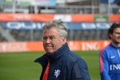 Guus Hiddink Royalty Free Stock Photo