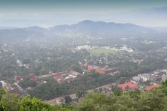 Guwahati City. Top view of Guwahati city, Assam, North East India Royalty Free Stock Photography