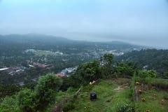 Guwahati Stad-Indien Arkivbild