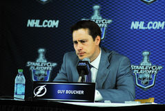 Guy Boucher Tampa Bay Lightning Royalty Free Stock Photo