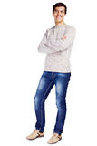 Guy with crossed arms Royalty Free Stock Photography