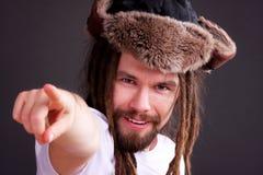 Guy with dreadlocks Royalty Free Stock Photography