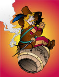 Guy Fawkes royalty free illustration