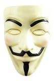 Guy Fawkes Mask. Isolated on white Royalty Free Stock Photo