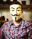 Guy Fawkes Mask Lizenzfreie Stockbilder