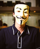 Guy Fawkes Mask Fotos de Stock Royalty Free