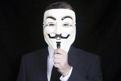 Guy Fawkes Mask Imagen de archivo libre de regalías