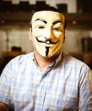 Guy Fawkes Mask Stock Photo