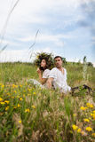 Guy and  girl Stock Image