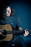 Guy with Guitar Stock Photography