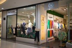 Guy Laroche-winkel in Centraal MAI van Festivalchiang Royalty-vrije Stock Foto