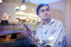 Free Guy Listening To Music Stock Image - 139339611