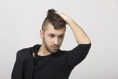 Guy with mohawk Stock Images