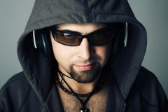 Guy music stock photography