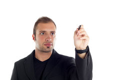 Guy in the office Royalty Free Stock Images