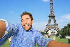 Guy in the Paris Stock Photography