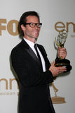 Guy Pearce. LOS ANGELES - SEP 18:  Guy Pearce in the Press Room at the 63rd Primetime Emmy Awards at Nokia Theater on September 18, 2011 in Los Angeles, CA Stock Photos
