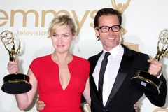 Guy Pearce, Kate Winslet Royalty Free Stock Images