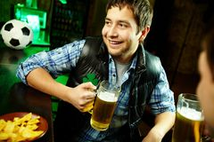 Guy in pub Stock Photos