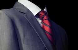 Guy in a red tie Royalty Free Stock Images