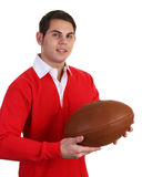 Guy with rugby shirt Royalty Free Stock Photo