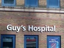Guy& x27; s医院伦敦 免版税库存照片