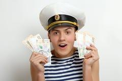 Guy sailor Stock Photo