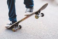 Guy on a skateboard Royalty Free Stock Photo