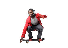Guy skateboarding Royalty Free Stock Image