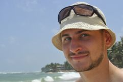 Smiling guy Stock Photo