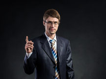 A guy in a suit Royalty Free Stock Photography