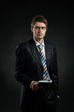 A guy in a suit Stock Photo