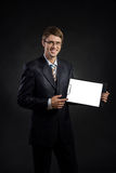 A guy in a suit Stock Image