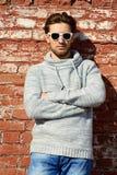 Guy in sunglasses Stock Photo