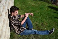Guy thinking Royalty Free Stock Photo