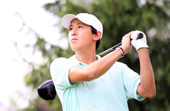 Guy Tran at the golf Prevens Trpohee 2009 Royalty Free Stock Photography