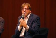Guy Verhofstadt Arkivfoton