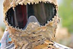Guy wearing face mask Stock Photos