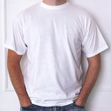 Guy in a white shirt. Fashion, dress. Man in a white t-shirt Royalty Free Stock Photo
