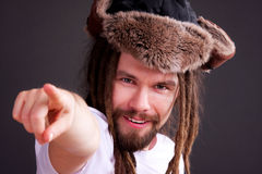 Free Guy With Dreadlocks Royalty Free Stock Photography - 18737957