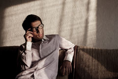 Guy With Glasses Stock Image