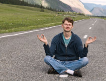 Guy Zen Road stock photography