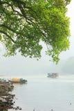 Guyan het Schilderen Gemeente in de lente Stock Afbeelding