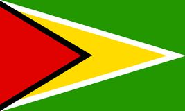 Guyana vector illustratie