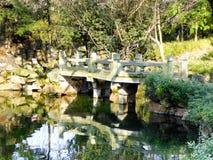 Guyi Garden bridge Royalty Free Stock Images
