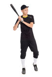 Guys baseball player with a bat Stock Images